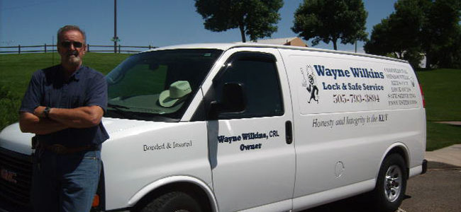 Wayne Wilkins Lock & Safe Services